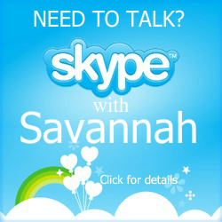 Skype with Savannah