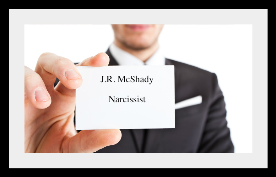 The Calling Card of the Narcissist: Narcissistic