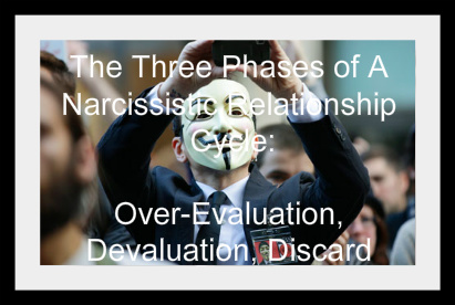 The Three Phases of A Narcissistic Relationship Cycle: Over